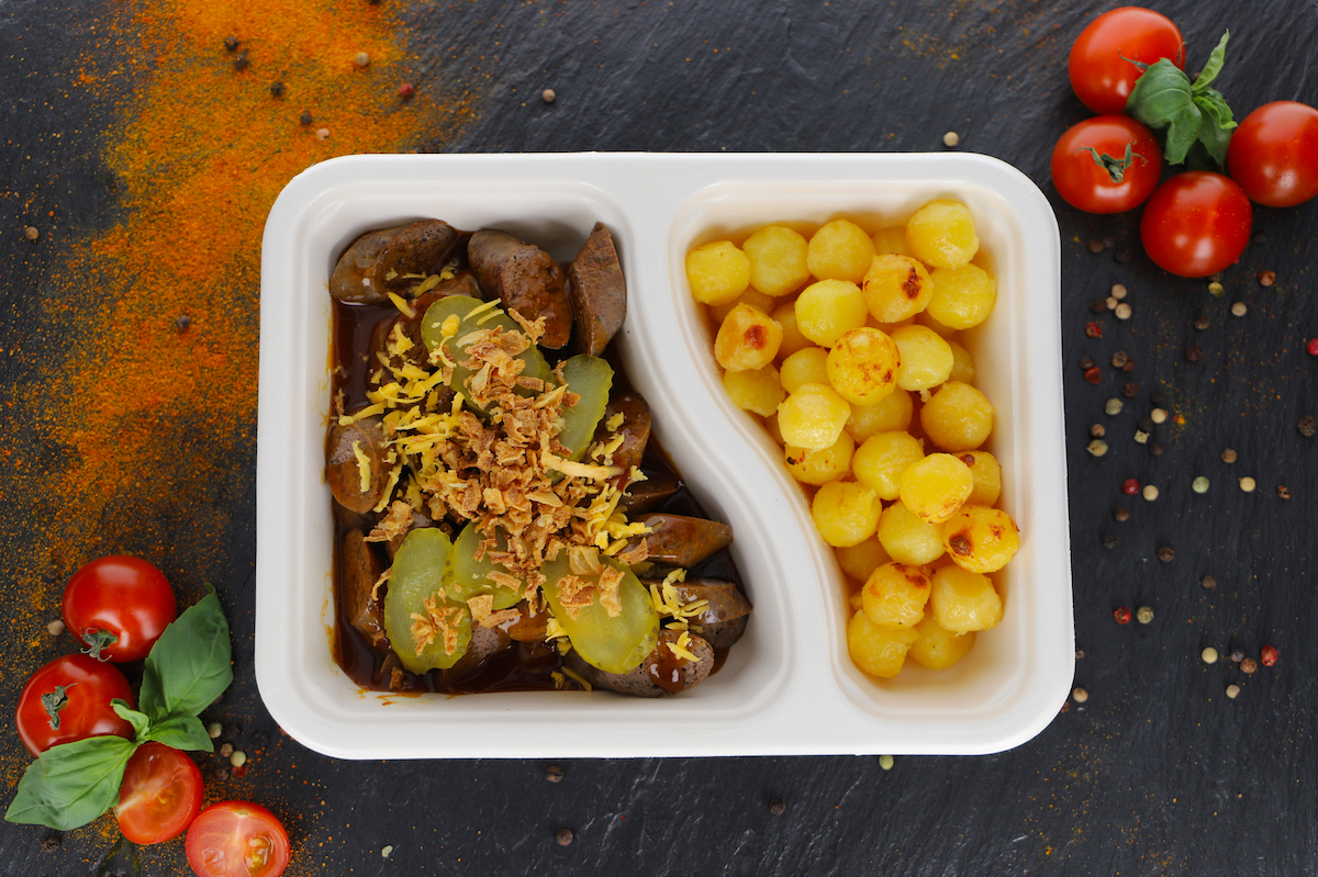 Currywurst Rind - American Style