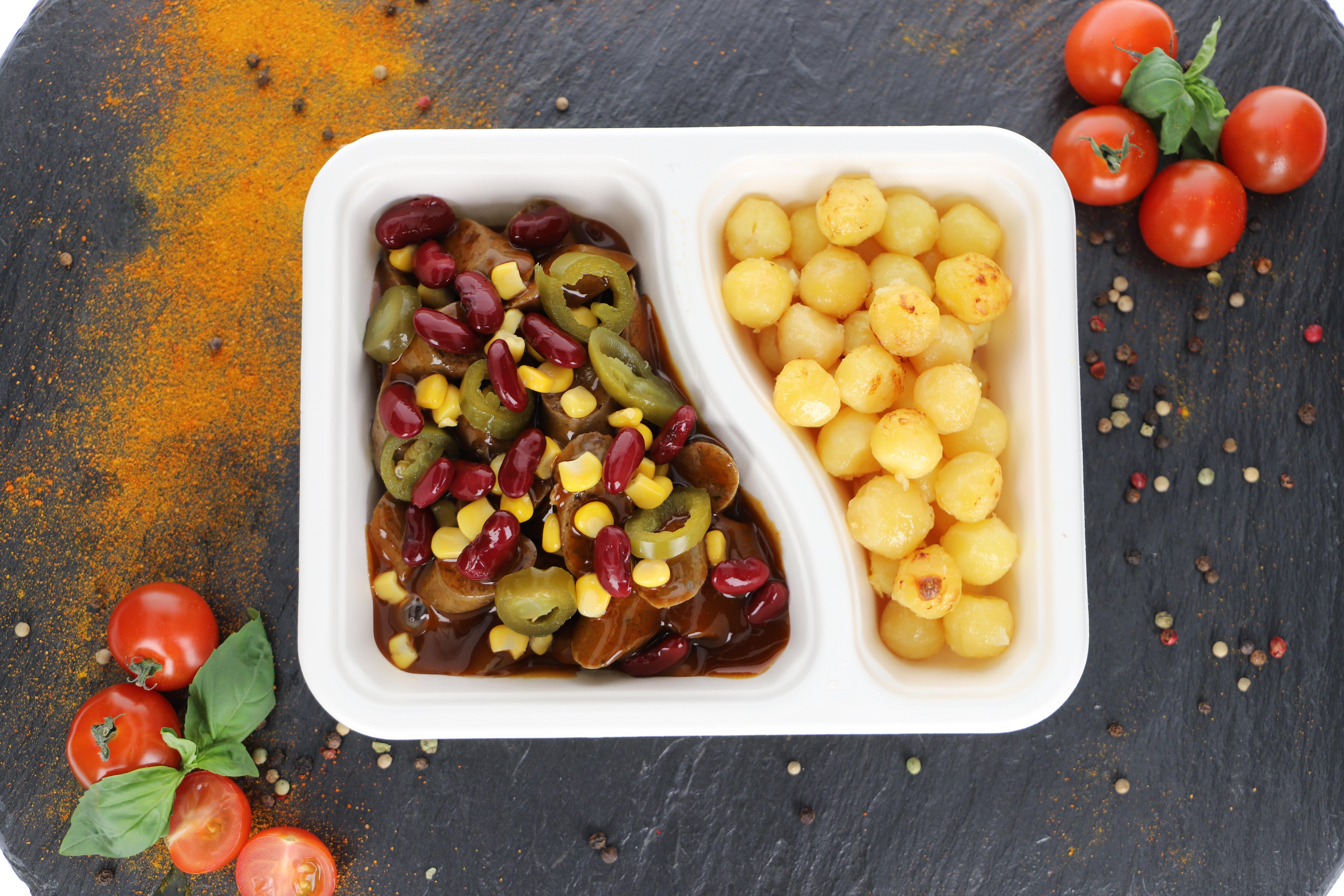 Currywurst Schwein -  Mexican Style