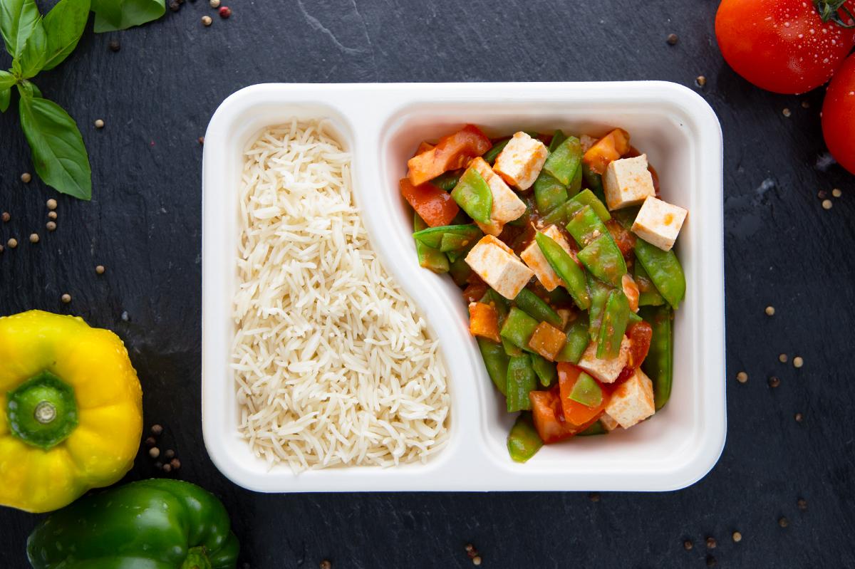 Tomaten-Tofu