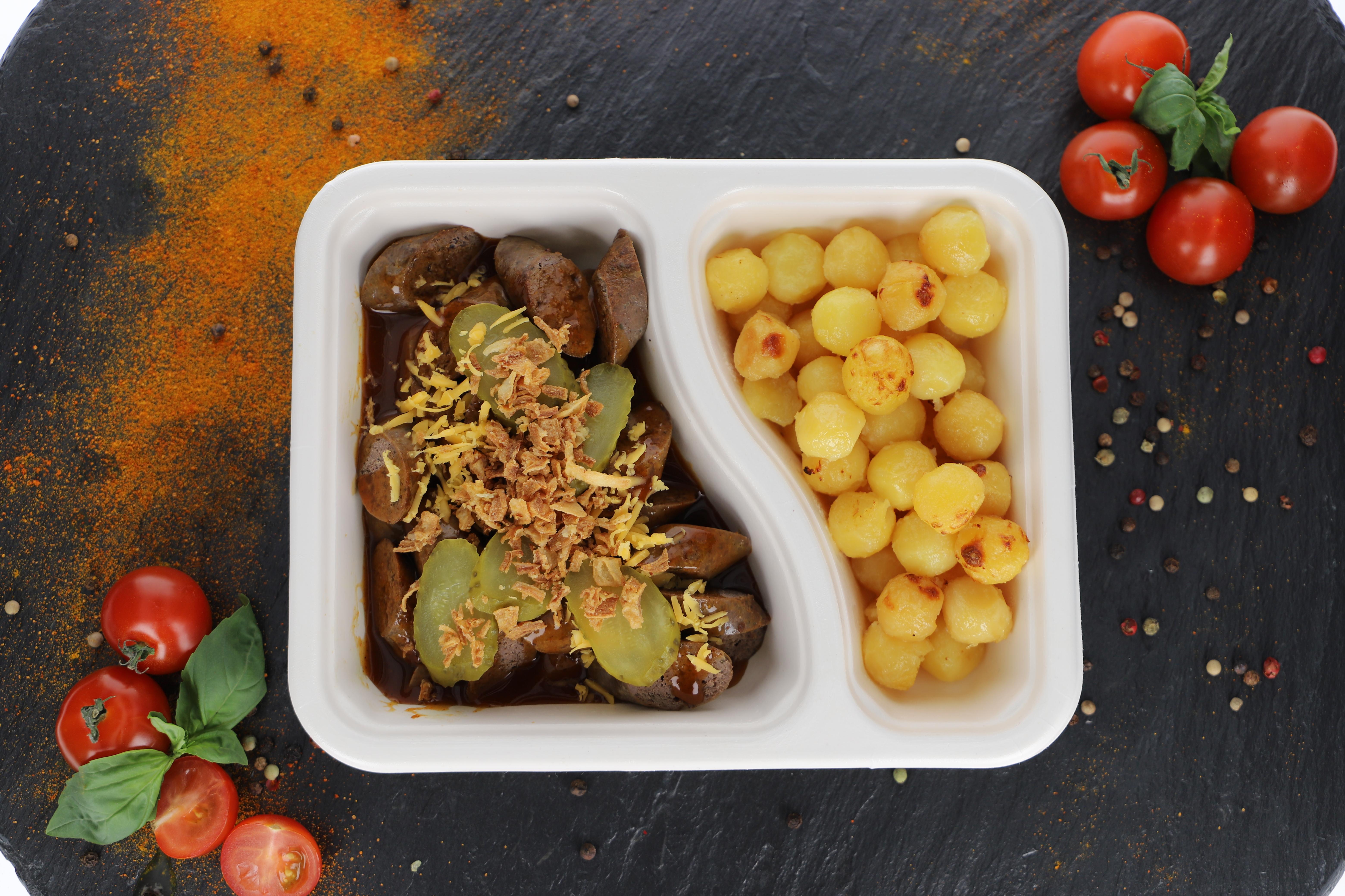 Currywurst Schwein - American Style