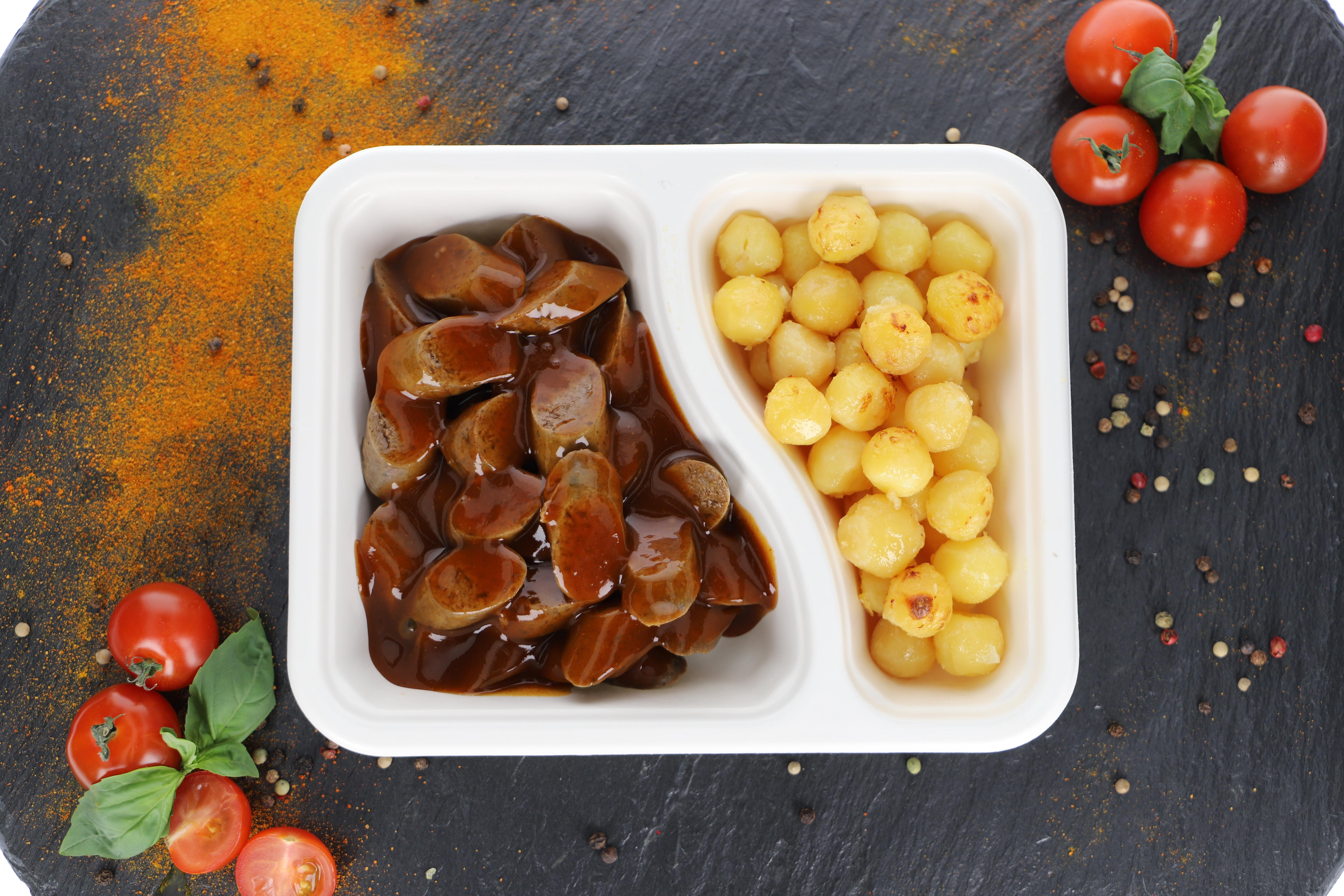 Currywurst Schwein Klassik