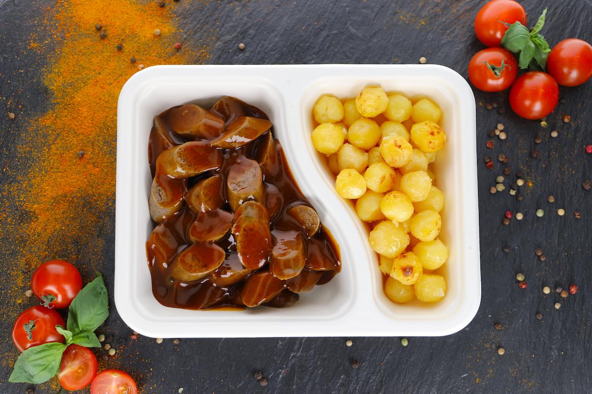Currywurst Rind Klassik